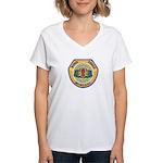 Des Moines PD E.O.D. Women's V-Neck T-Shirt