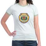 Des Moines PD E.O.D. Jr. Ringer T-Shirt