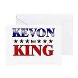 KEVON for king Greeting Cards (Pk of 10)