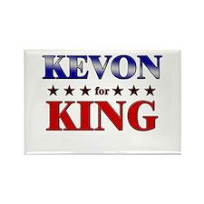 KEVON for king Rectangle Magnet (10 pack)