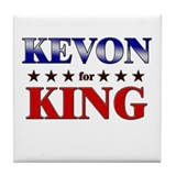 KEVON for king Tile Coaster