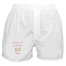 Proud Oma Girl Twins Boxer Shorts
