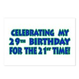 Funny 50th Birthday Cards & G Postcards (Package o