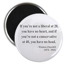 Winston Churchill 8 Magnet
