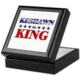 KESHAWN for king Keepsake Box