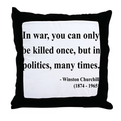 Winston Churchill 10 Throw Pillow