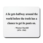 Winston Churchill 11 Mousepad