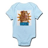 Omg cat Infant Bodysuit