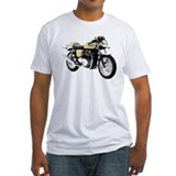 Triumph Thruxton Motorbike Yellow Shirt