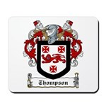 Thompson Family Crest Mousepad