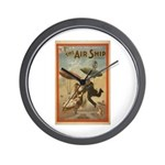 The Airship Wall Clock