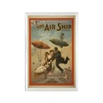 The Airship Rectangle Magnet (100 pack)