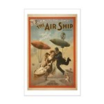 The Airship Mini Poster Print