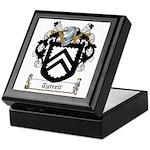 Tyrrell Family Crest Keepsake Box