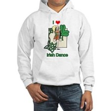I Love Irish Dance Jumper Hoody