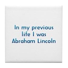 PL Abraham Lincoln Tile Coaster