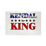 KENDAL for king Rectangle Magnet (10 pack)