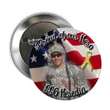 "PATTY SUPPORTS SSG HEREDIA!! 2.25"" Button (10 pack"