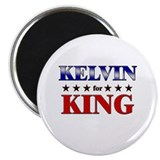 "KELVIN for king 2.25"" Magnet (10 pack)"