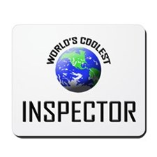 World's Coolest INSPECTOR Mousepad