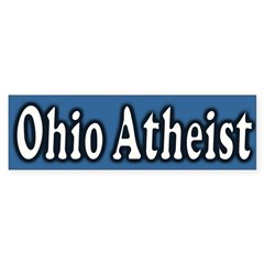 Ohio Atheist Bumper Sticker