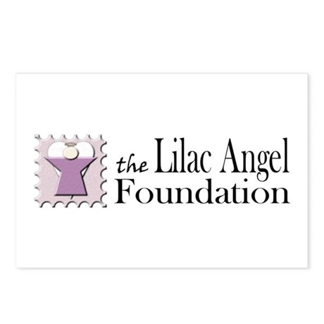Lilac Angel Foundation Postcards (Package of 8)