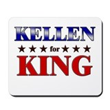 KELLEN for king Mousepad