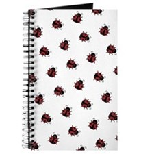 Ladybug Pattern Journal