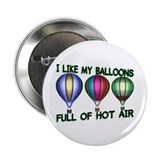 "Hot Air Balloon 2.25"" Button (100 pack)"