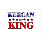 KEEGAN for king Postcards (Package of 8)