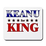 KEANU for king Mousepad