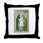 Gorgeous Irish Stamp Throw Pillow