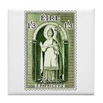 Gorgeous Irish Stamp Tile Coaster