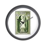 Gorgeous Irish Stamp Wall Clock