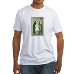 Gorgeous Irish Stamp Fitted T-Shirt