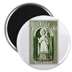 Gorgeous Irish Stamp Magnet