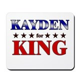 KAYDEN for king Mousepad