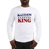 KAYDEN for king Long Sleeve T-Shirt