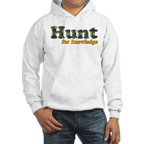 Hunt For Knowledge Hooded Sweatshirt