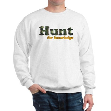Hunt For Knowledge Sweatshirt