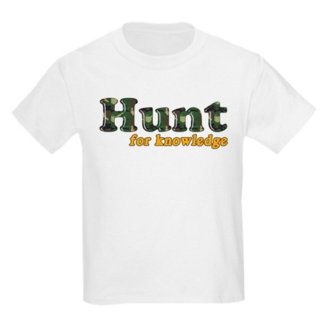 Hunt For Knowledge Kids T-Shirt