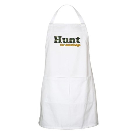 Hunt For Knowledge BBQ Apron