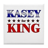 KASEY for king Tile Coaster