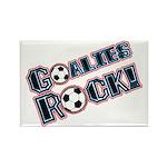 Goalies Rock! Rectangle Magnet (10 pack)