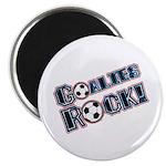 """Goalies Rock! 2.25"""" Magnet (100 pack)"""