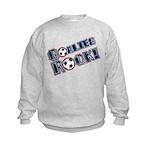 Goalies Rock! Kids Sweatshirt