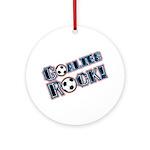 Goalies Rock! Ornament (Round)