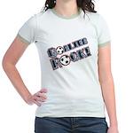 Goalies Rock! Jr. Ringer T-Shirt