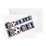 Goalies Rock! Greeting Cards (Pk of 10)