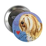 "Tibetan Terrier 2.25"" Button"